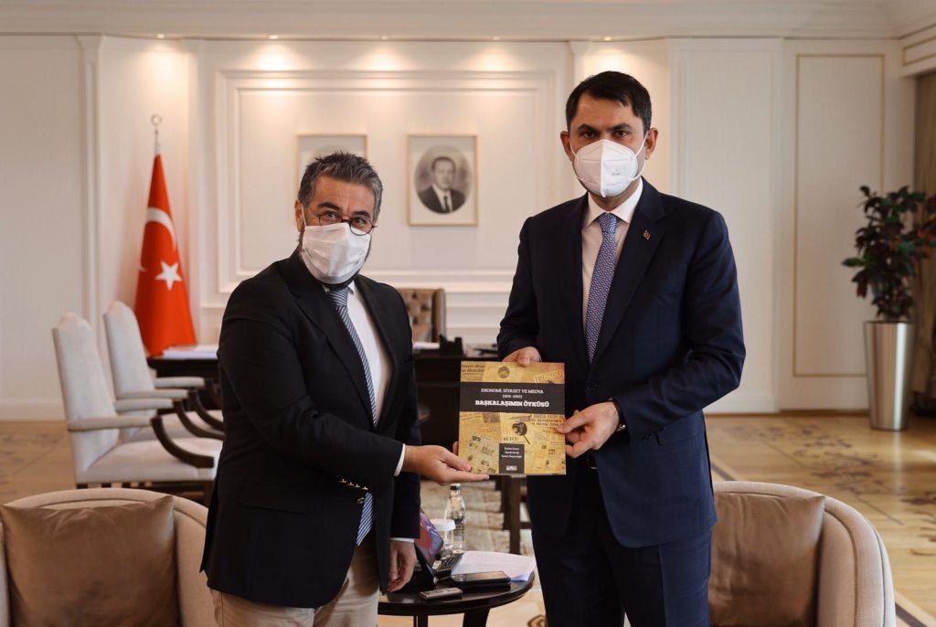 Çevre ve Şehircilik Bakanı Murat Kurum, EMD Yönetimi ile Bir Araya Geldi